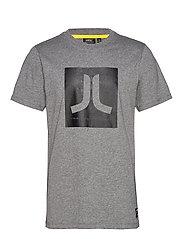 Max Icon T-Shirt - MEDIUM GREY MELANGE