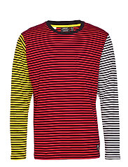 Makai Stripe L/S T-Shirt - ASSORTED