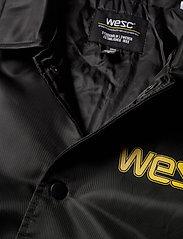 WeSC - Cuffed Coach 1999 Jacket - leichte jacken - black - 3