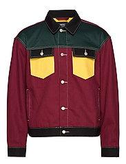 Denim Jacket Colorblock - ASSORTED