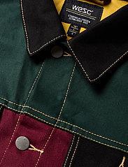 WeSC - Denim Jacket Colorblock - jeansjacken - assorted - 2
