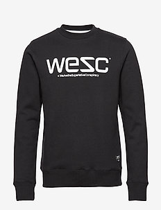 WeSC SWEATSHIRT - BLACK