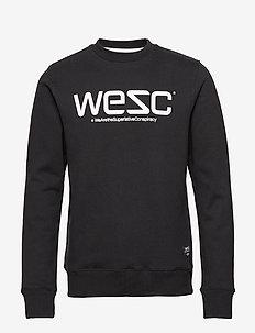 WeSC SWEATSHIRT - swetry - black