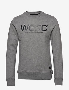 WeSC SWEATSHIRT - GREY