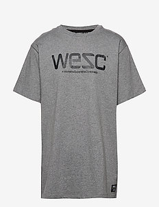 WeSC T-SHIRT - printed t-shirts - grey
