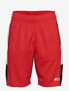 B-BALL SHORTS - casual shorts - blood red