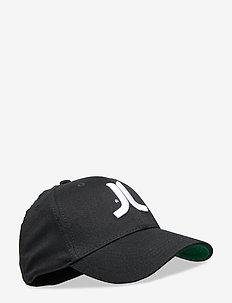 Icon Stretch Fit Cap - BLACK