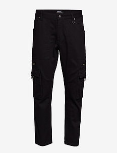 Tapered Utility Pant - BLACK