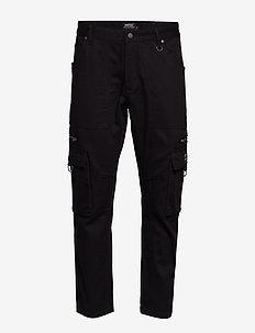 Tapered Utility Pant - bojówki - black