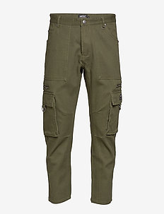 Tapered Utility Pant - OLIVE NIGHT