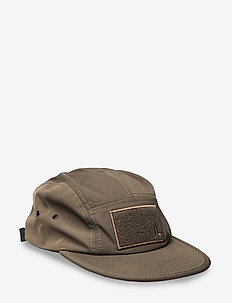 Soft Velcro 5 Panel Cap - lakit - olive night