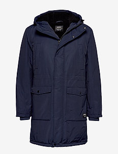 WINTER PARKA - BLUEBERRY