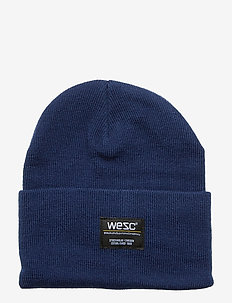 Puncho Beanie - luer - blueberry