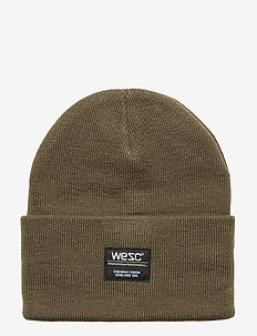 Puncho Beanie - OLIVE NIGHT