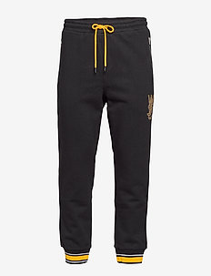 Overlay Zip Jogger - spodnie dresowe - black