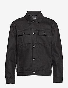 Denim Jacket Stay Black - STAY BLACK