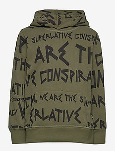SUPERLATIVE HOODIE Big Boy - OLIVE