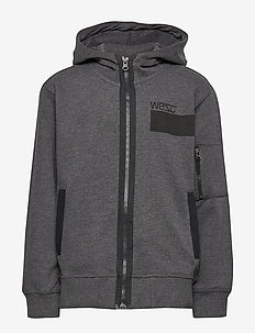 UTILITY HOODIE Big Boy - HEATHER CHARCOAL