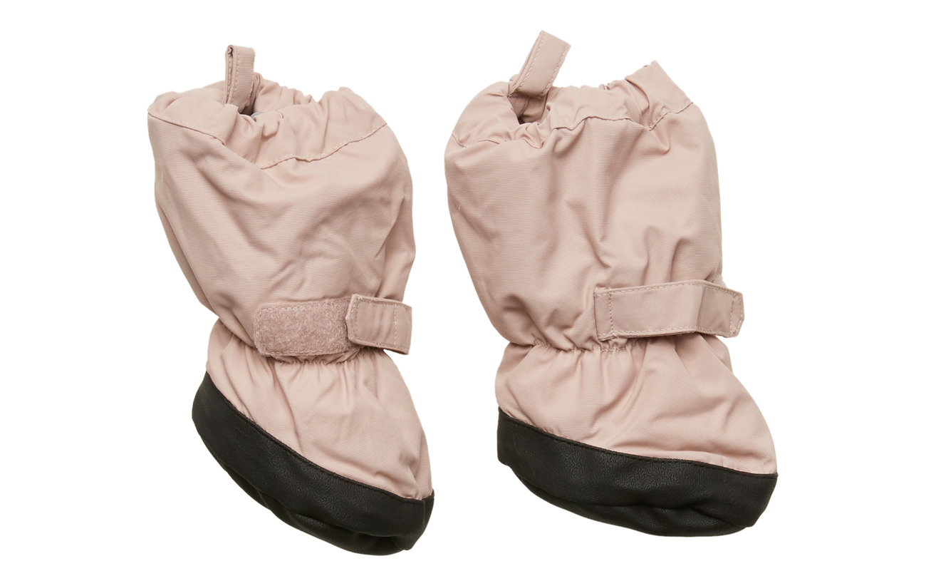 Wheat Outerwear Booties - ROSE POWDER