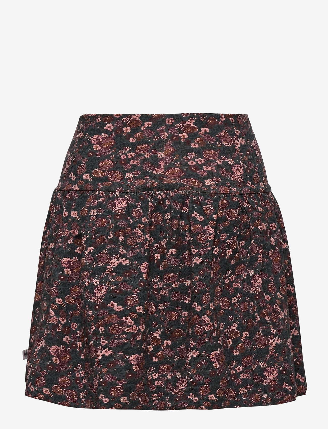 Wheat - Skirt Selma - spódnice - petroleum flowers - 1