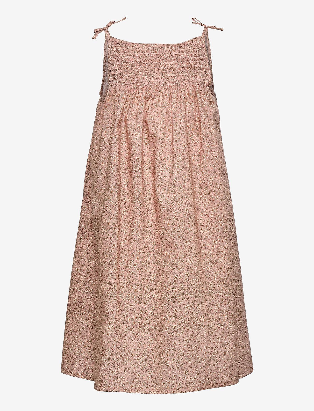Wheat - Dress Elise - kleider - misty rose flowers - 0