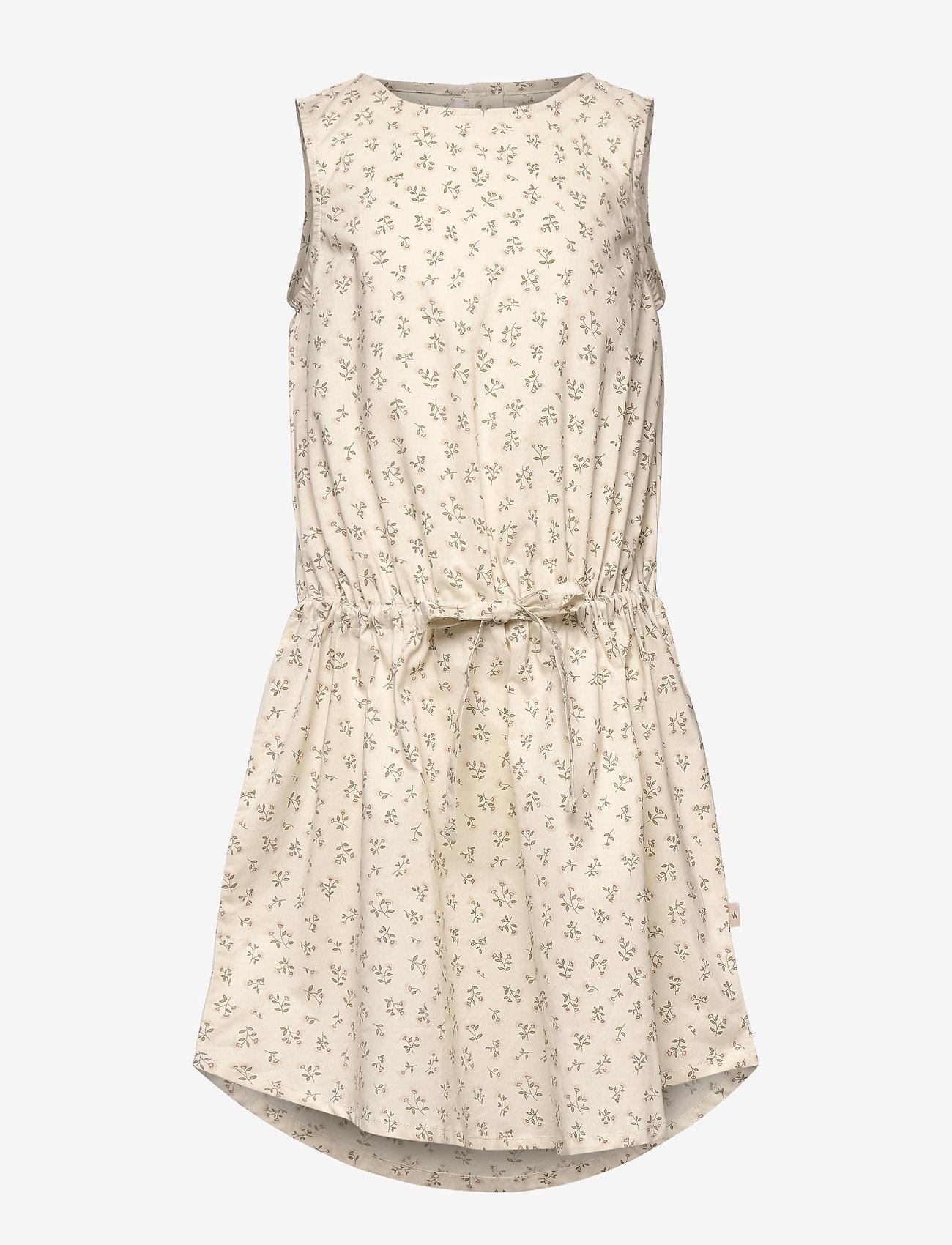 Wheat - Dress Vilde - kleider - eggshell flowers - 0