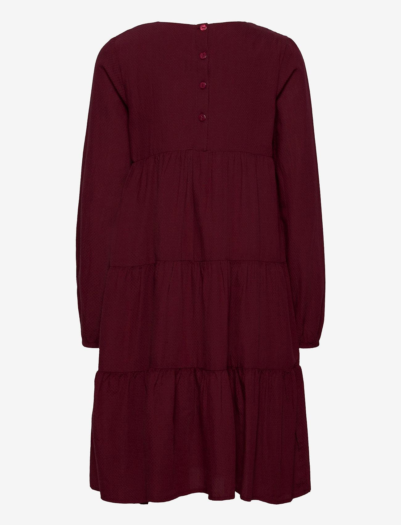 Wheat - Dress Fanny - burgundy - 1