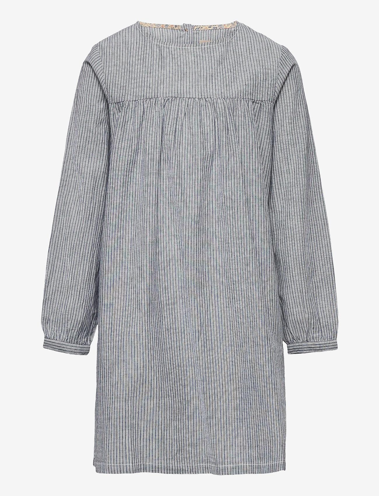 Wheat - Dress Anine - kleider - cool blue stripe - 0