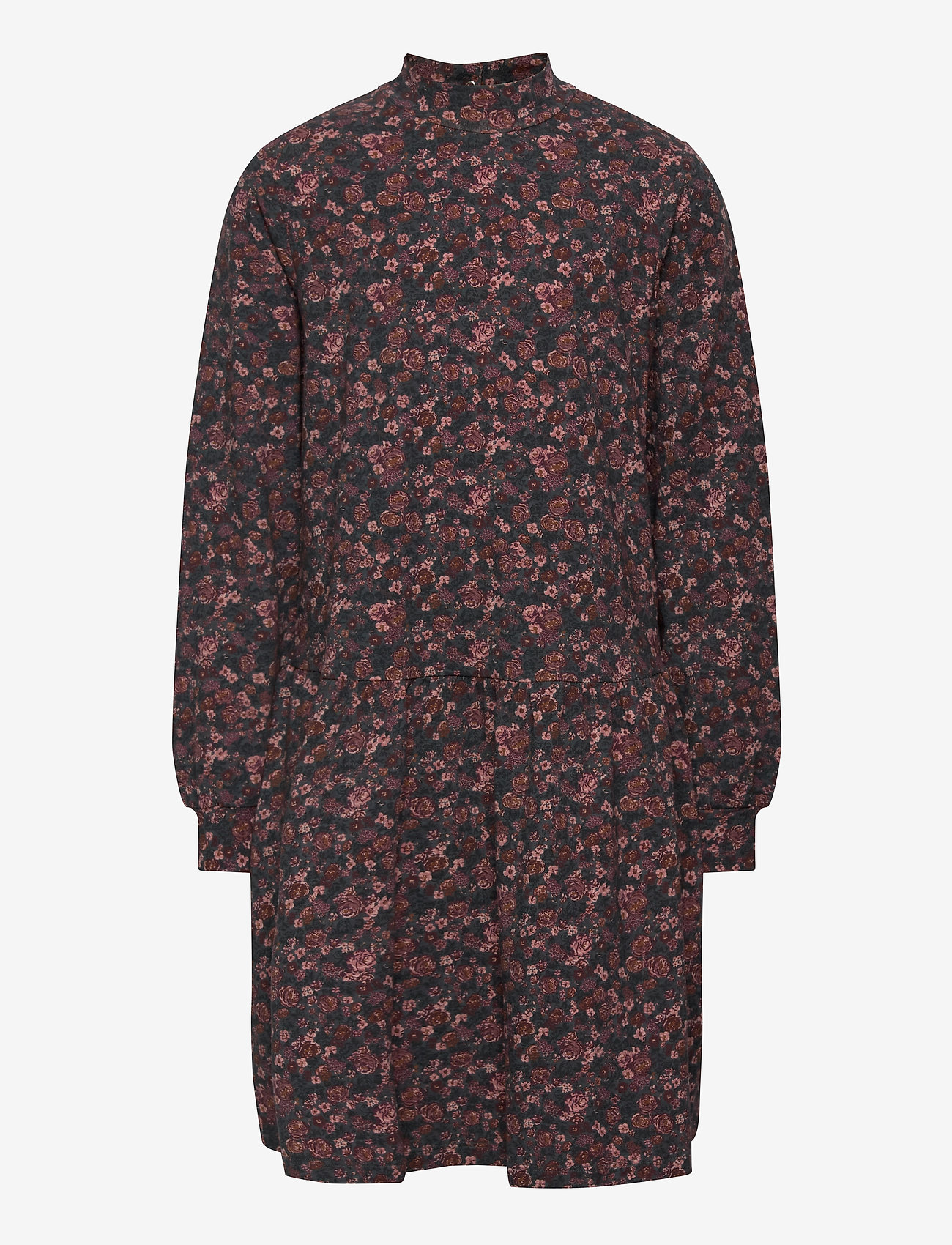 Wheat - Dress Rebekah - kjoler - petroleum flowers - 0