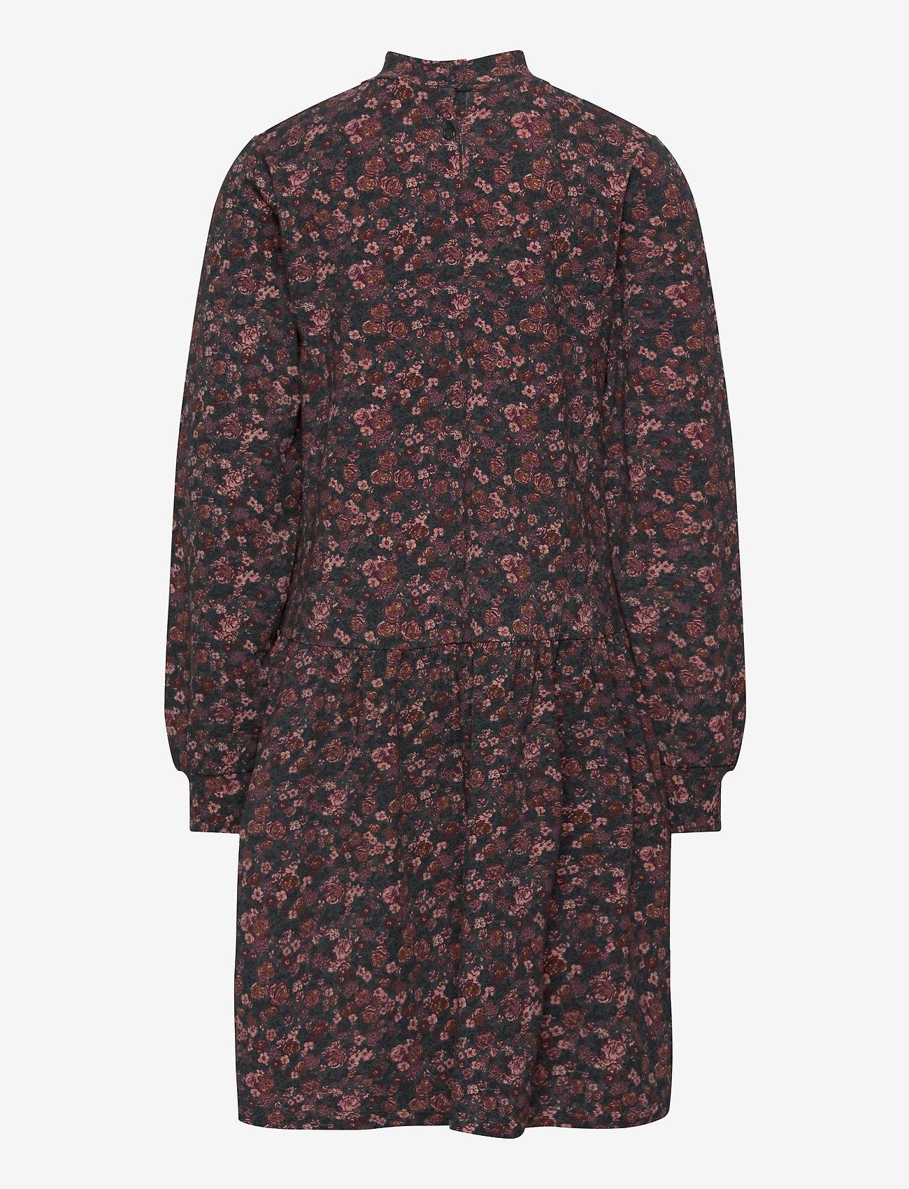 Wheat - Dress Rebekah - kjoler - petroleum flowers - 1