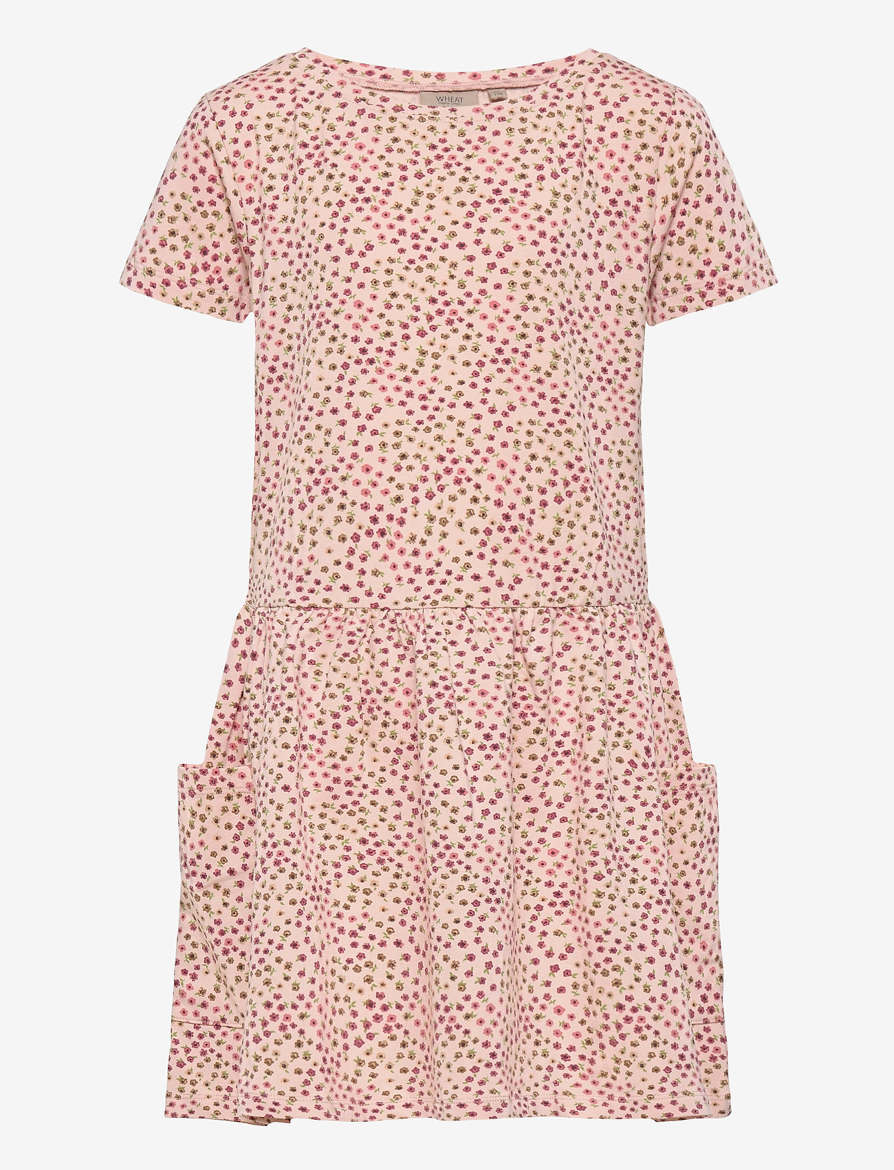 Wheat - Dress Birthe - kleider - powder mini flowers - 0