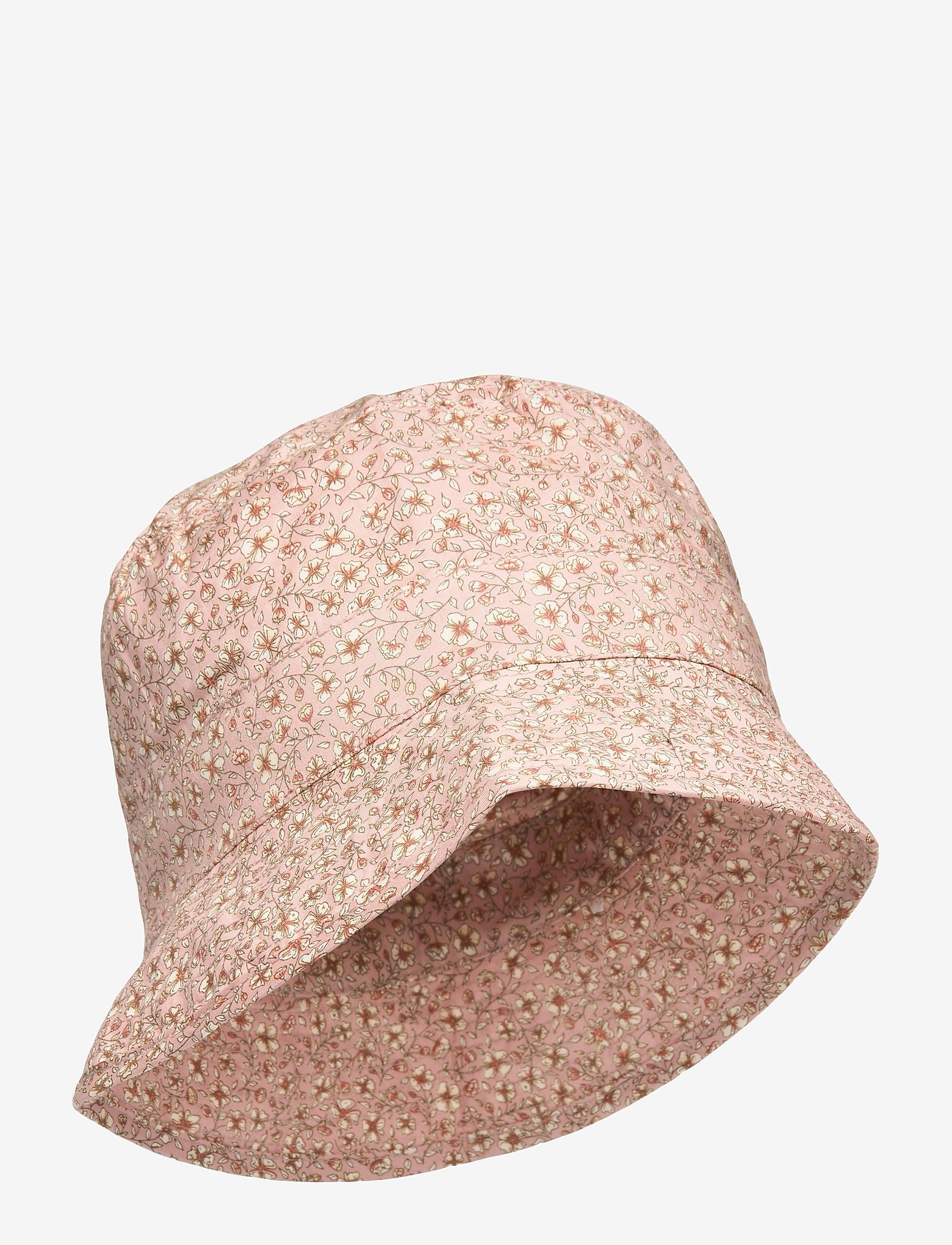 Wheat - Sunhat - solhat - misty rose flowers - 0