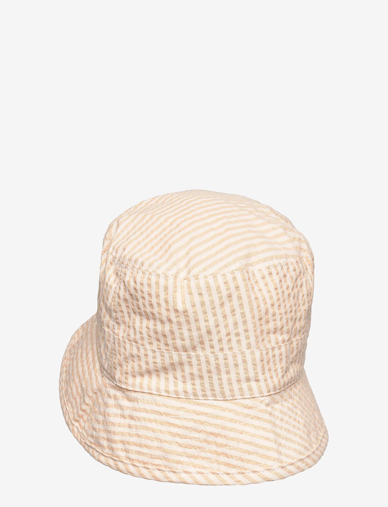 Wheat - Sunhat - huer & kasketter - taffy stripe - 1
