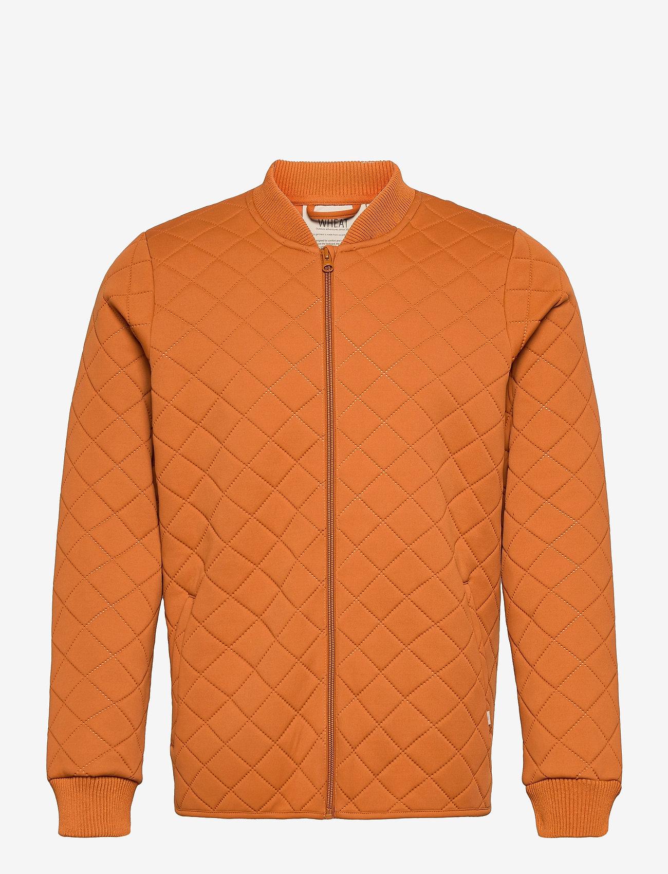 Wheat - Thermo Jacket Loui adult - vestes matelassées - terracotta - 0