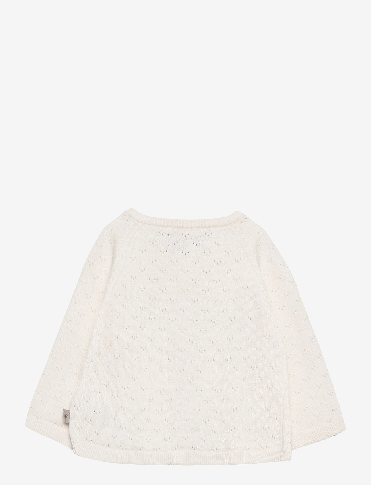 Wheat - Knit Cardigan Maja - gilets - ivory - 1