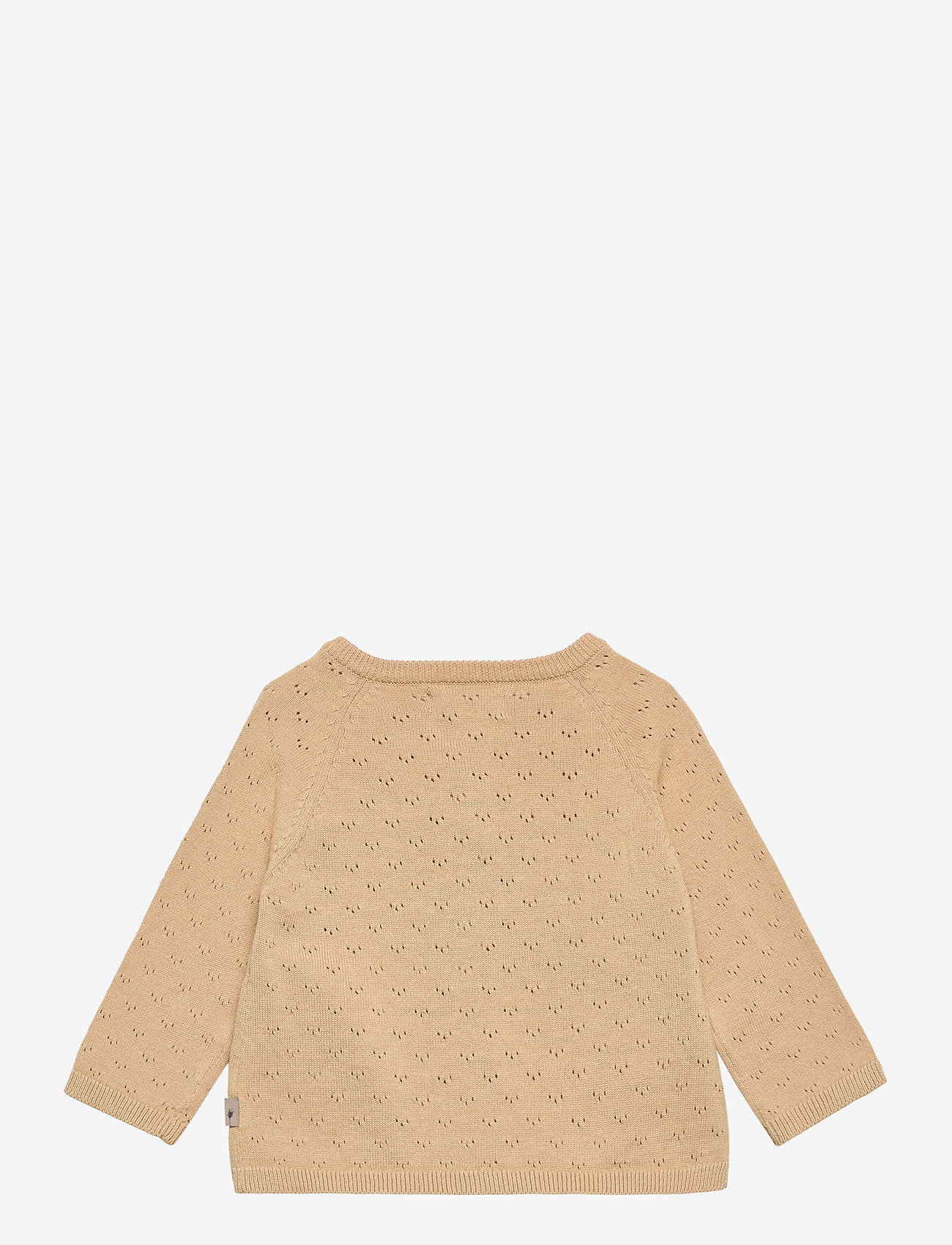 Wheat - Knit Cardigan Maja - gilets - soft beige - 1