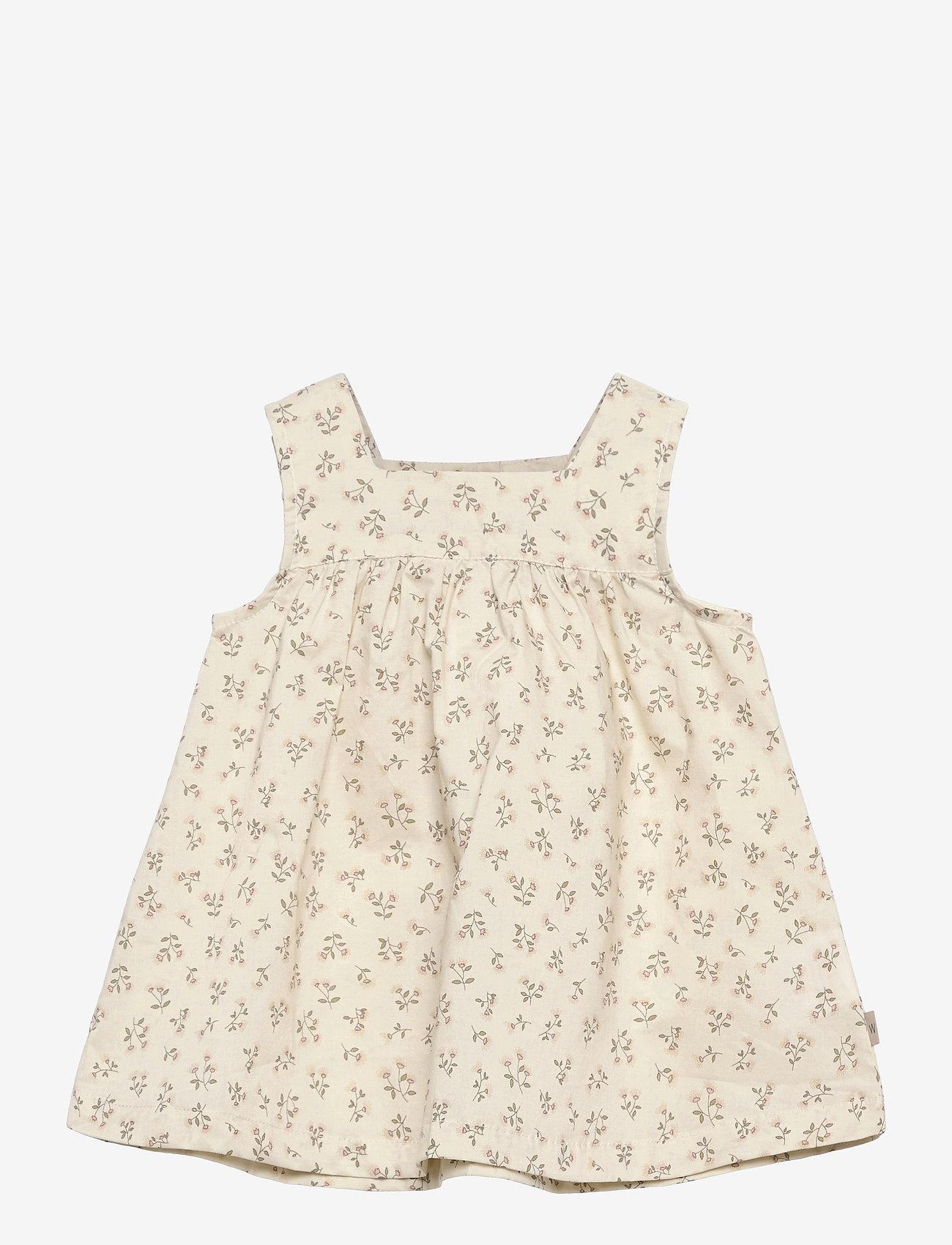 Wheat - Dress Ayla - kleider - eggshell flowers - 0