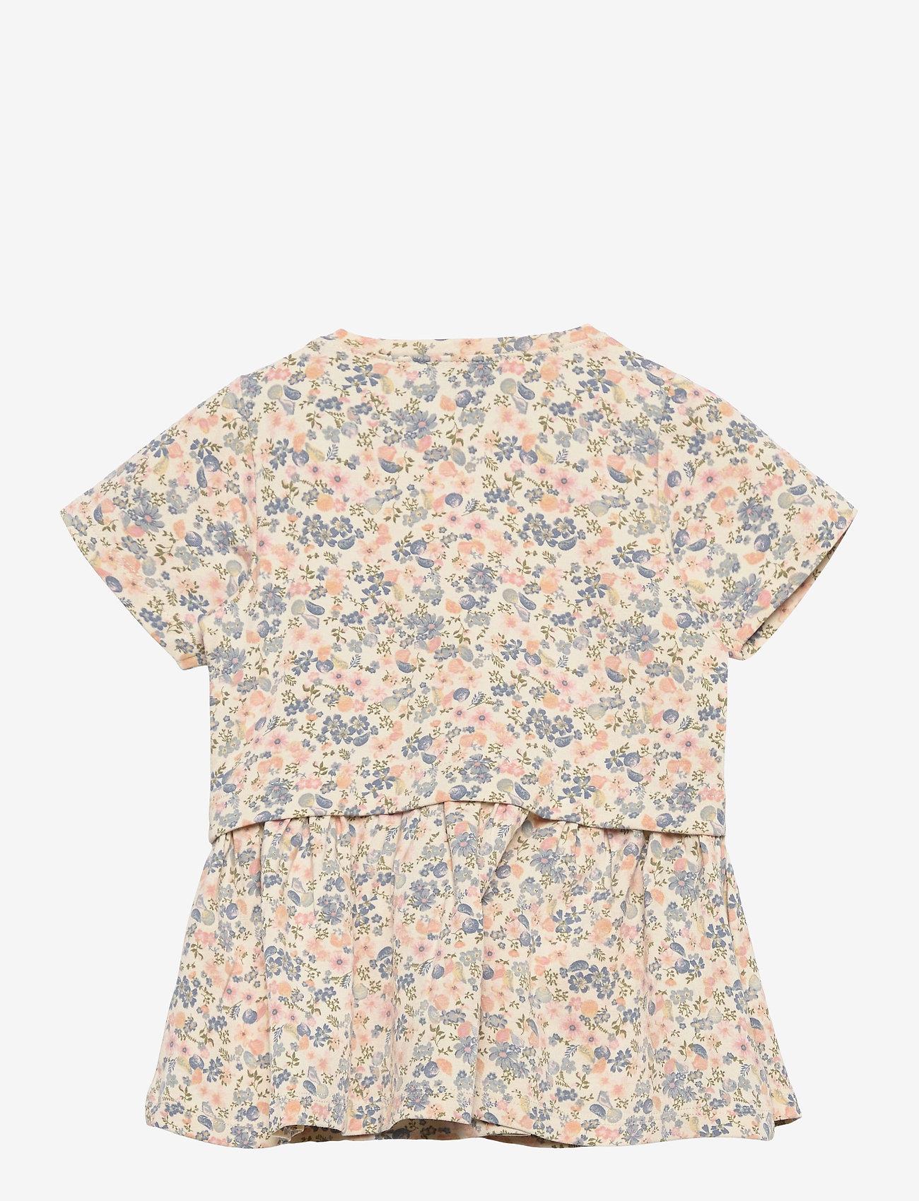 Wheat - Dress Adea - kleider - flowers and seashells - 1