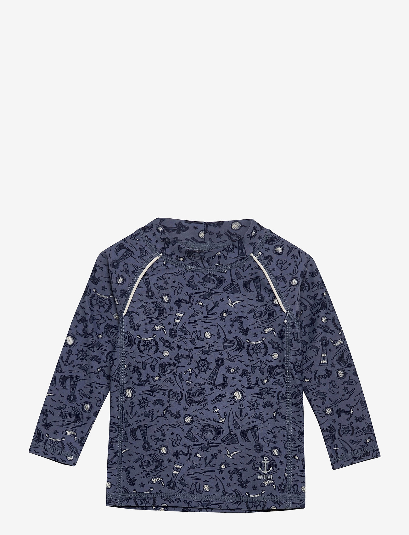 Wheat - Swim T-Shirt Bokdan - uv tops - flintstone sealife - 0