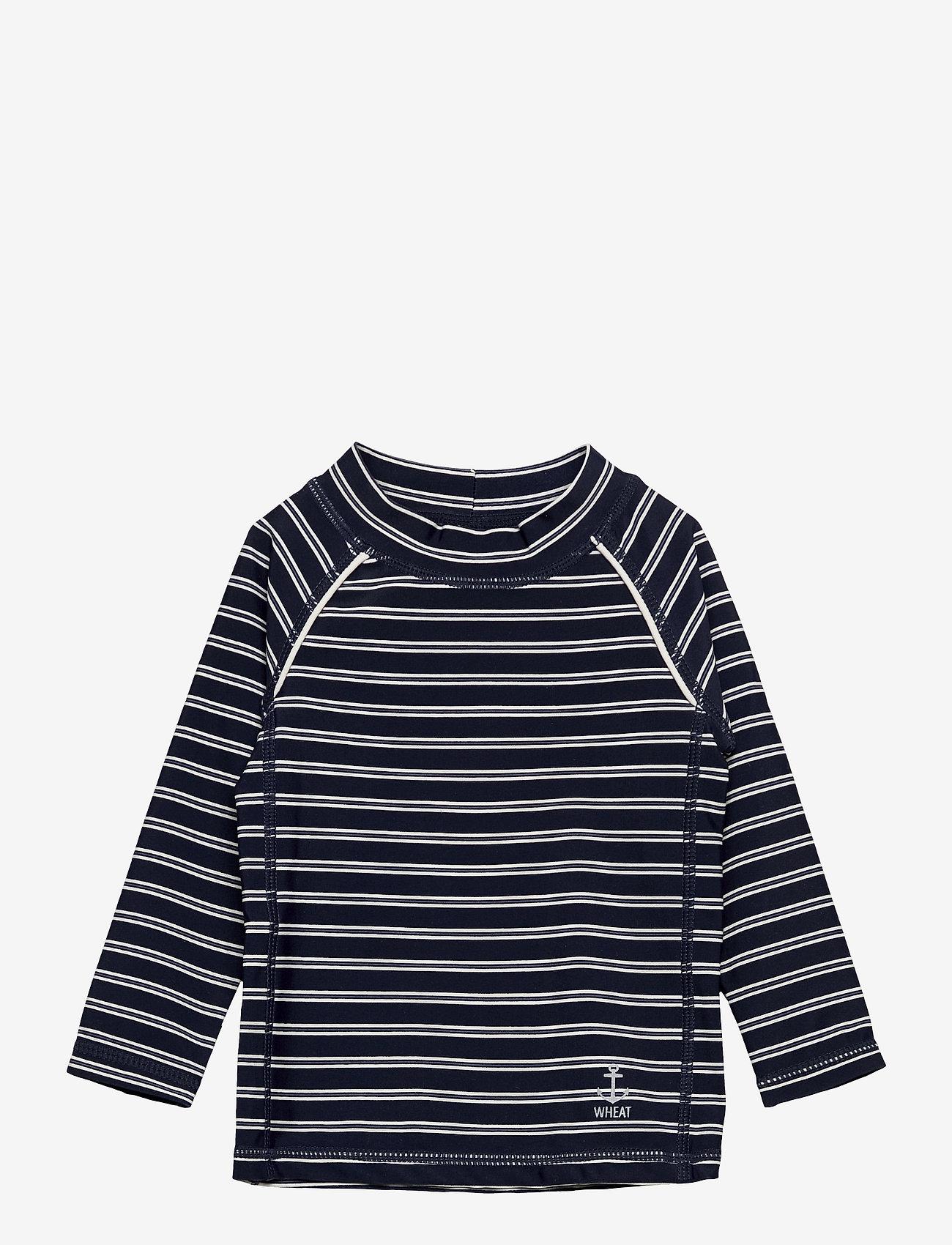 Wheat - Swim T-Shirt Bokdan - uv tops - marina - 0