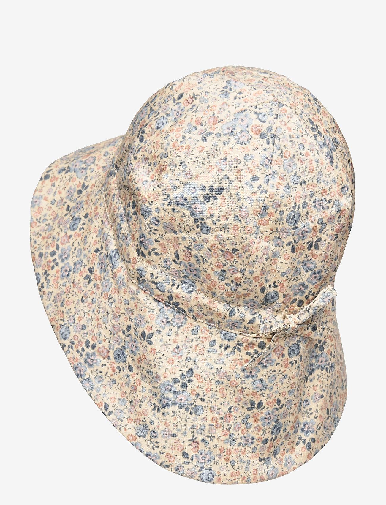 Wheat - Baby Girl Sun Hat - solhat - moonlight flowers - 1