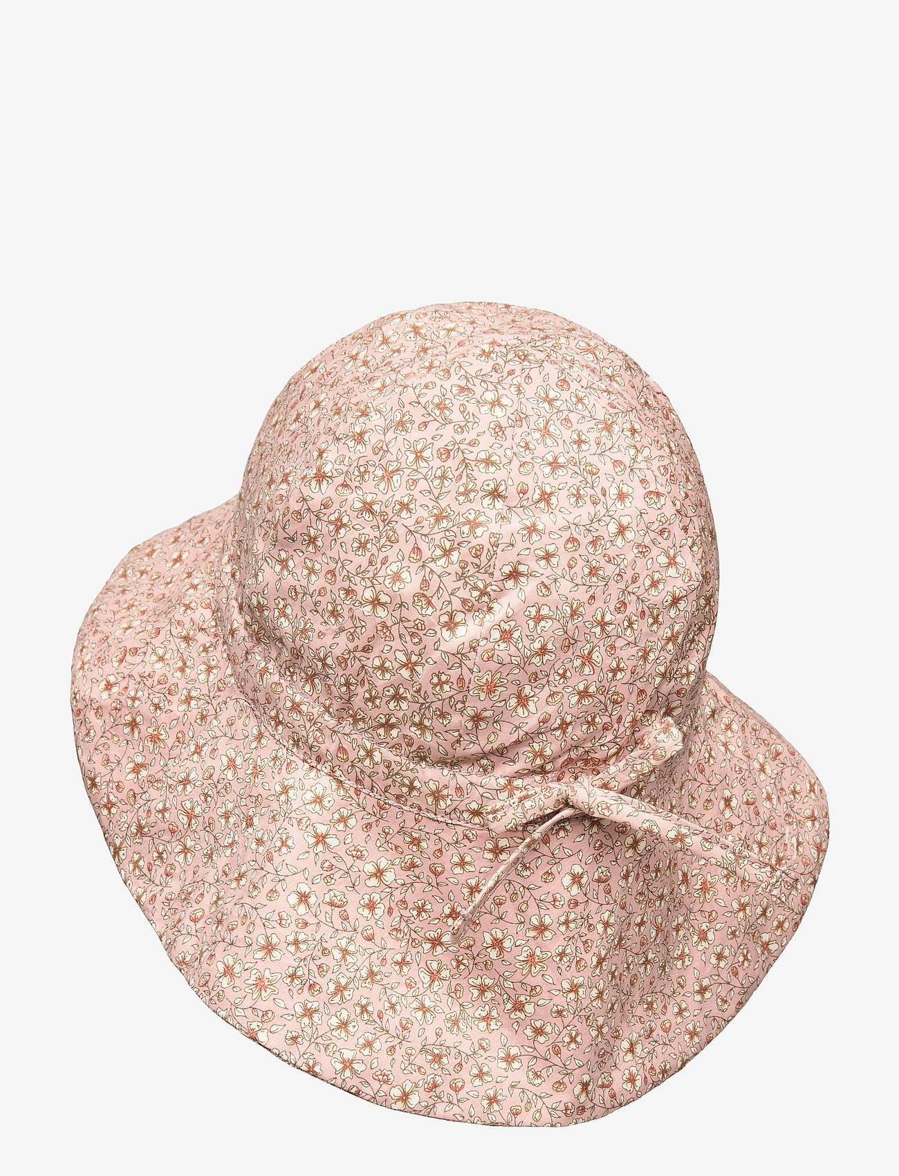 Wheat - Baby Girl Sun Hat - solhat - misty rose flowers - 1