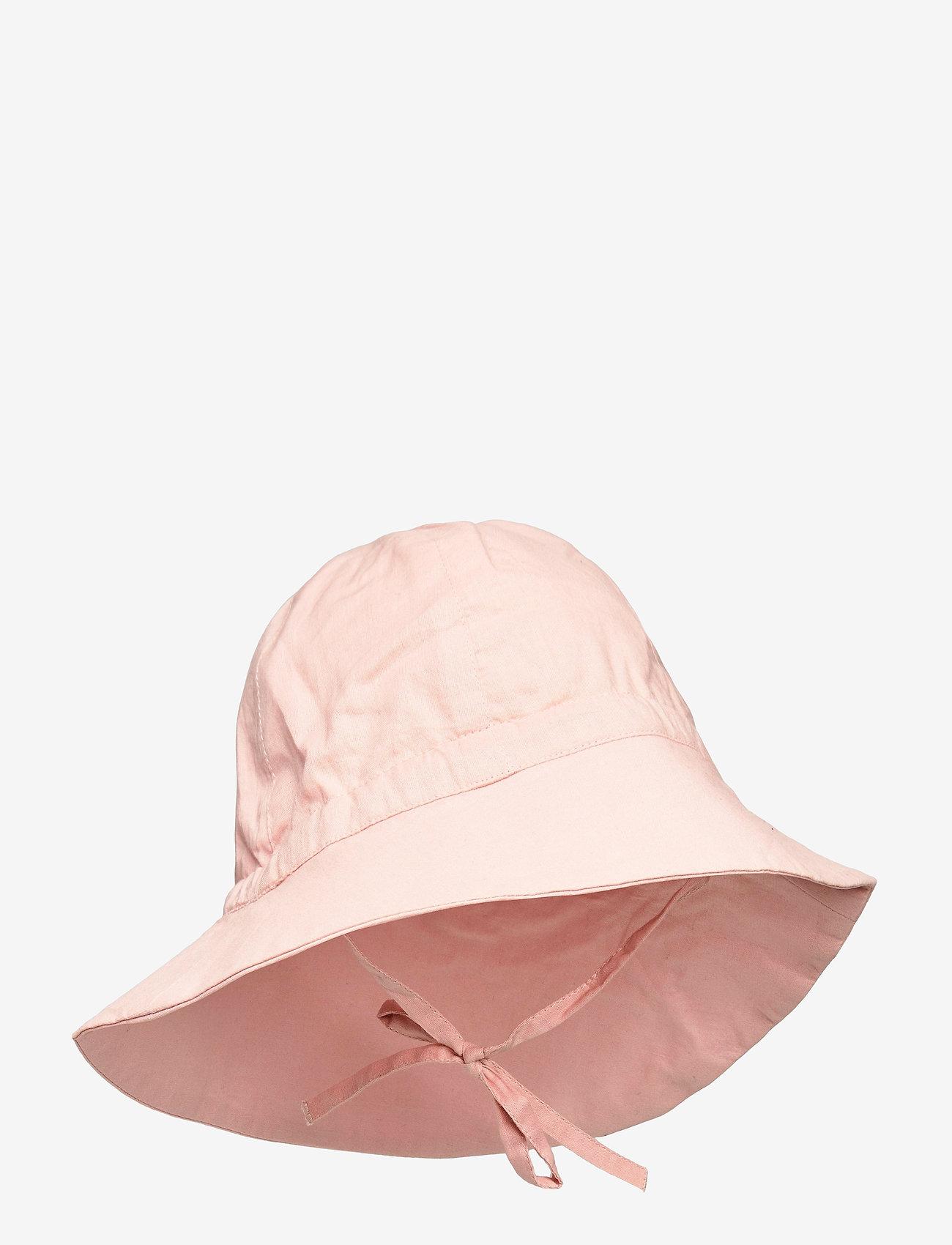 Wheat - Baby Girl Sun Hat - zonnehoed - misty rose - 0
