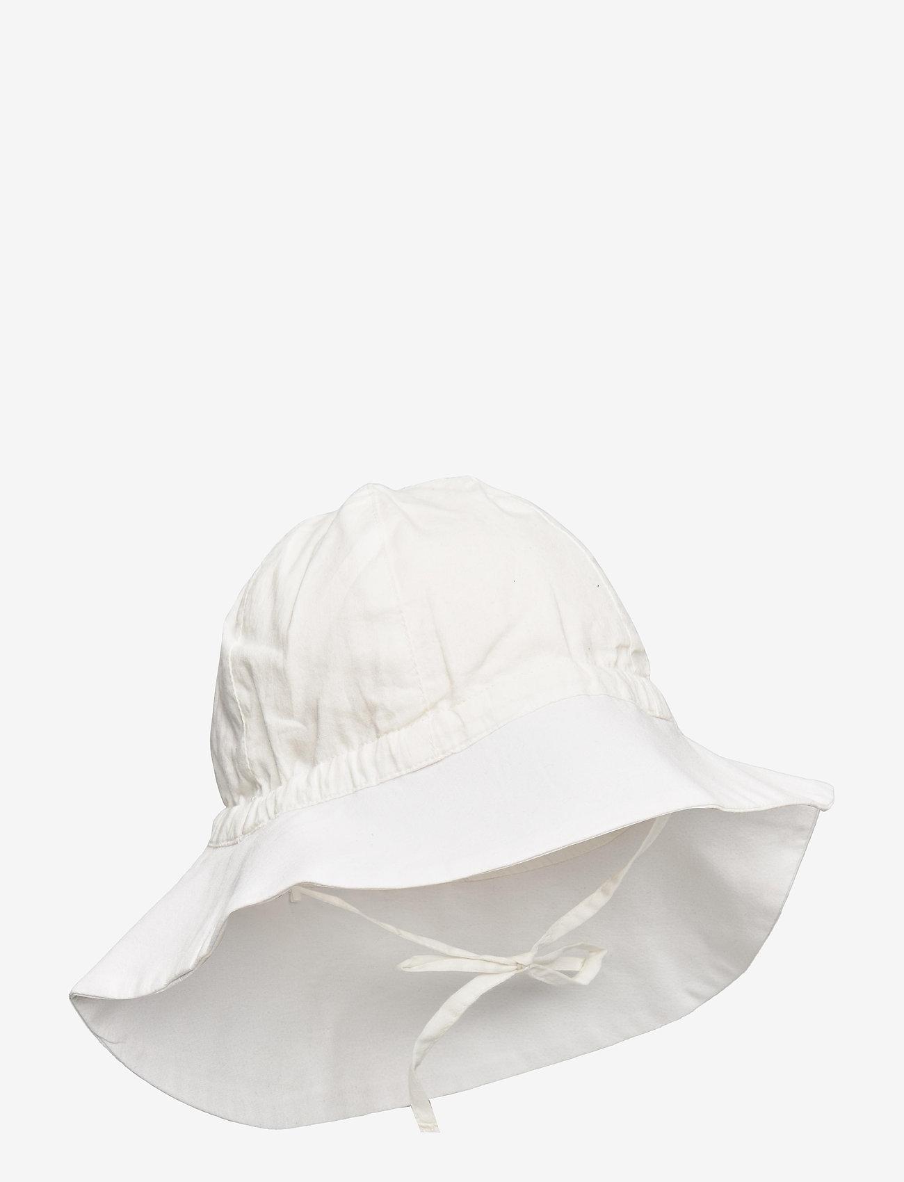 Wheat - Baby Girl Sun Hat - huer & kasketter - off white - 0