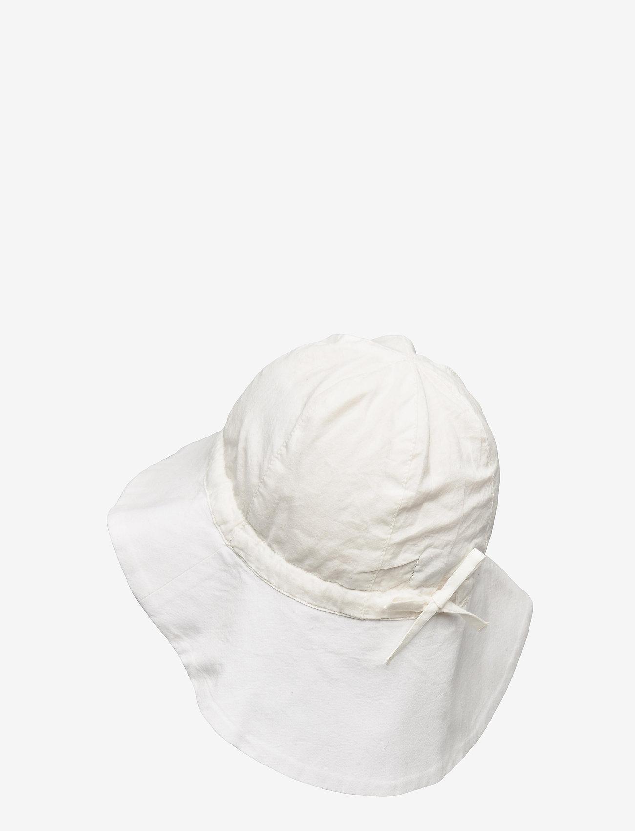 Wheat - Baby Girl Sun Hat - huer & kasketter - off white - 1