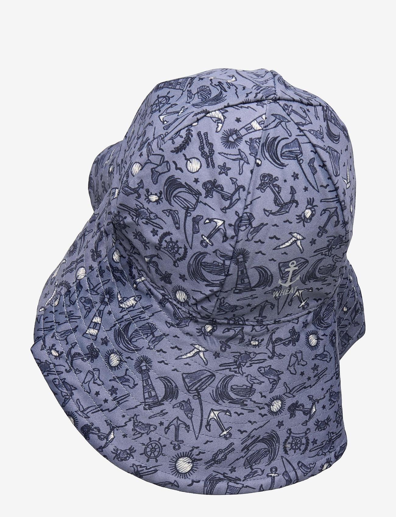 Wheat - UV Sun Hat - solhat - flintstone sealife - 1
