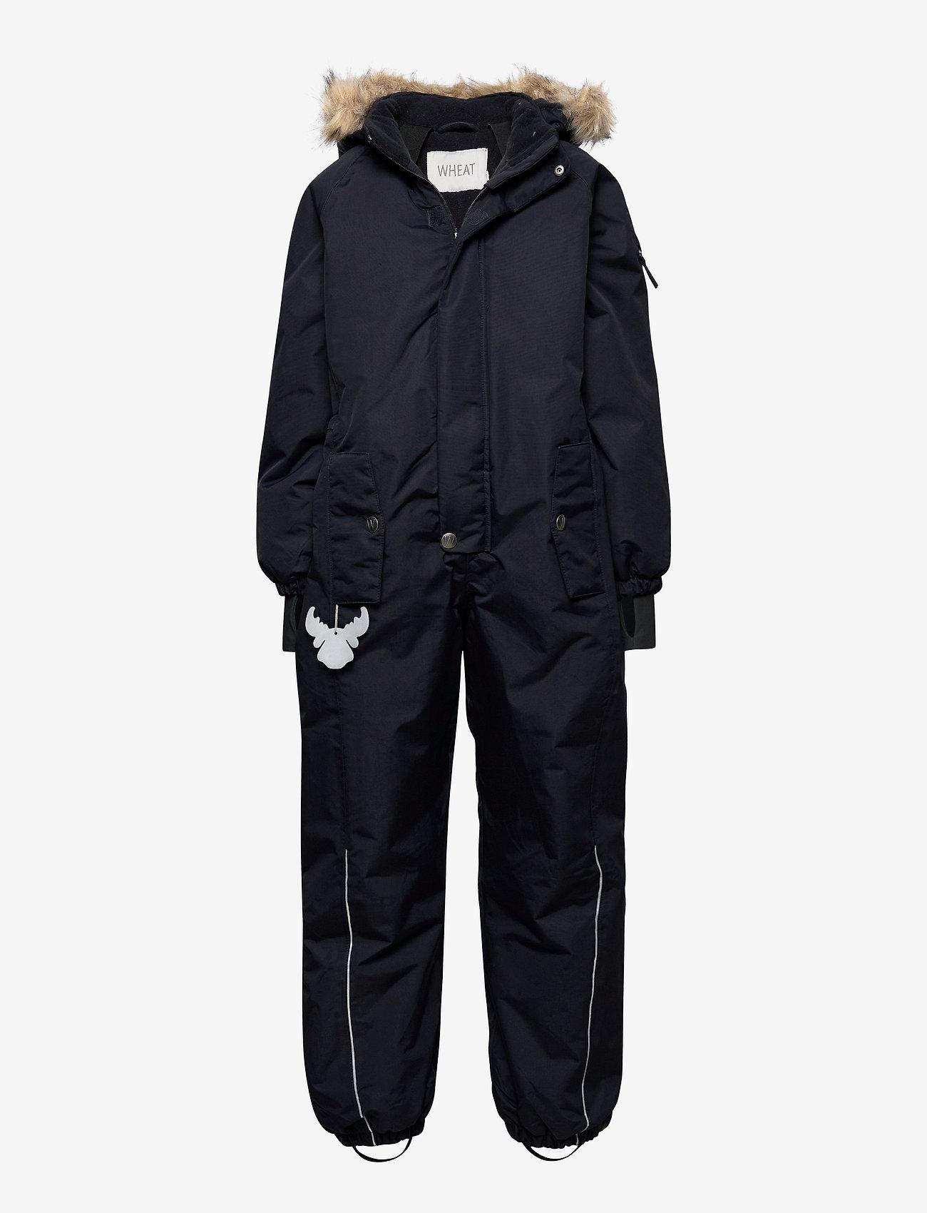Wheat - Snowsuit Moe Tech - snowsuit - midnight blue - 0