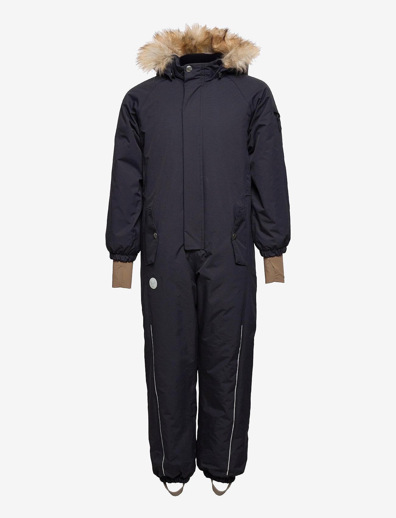 Wheat - Snowsuit Moe Tech - snowsuit - deep blue - 0