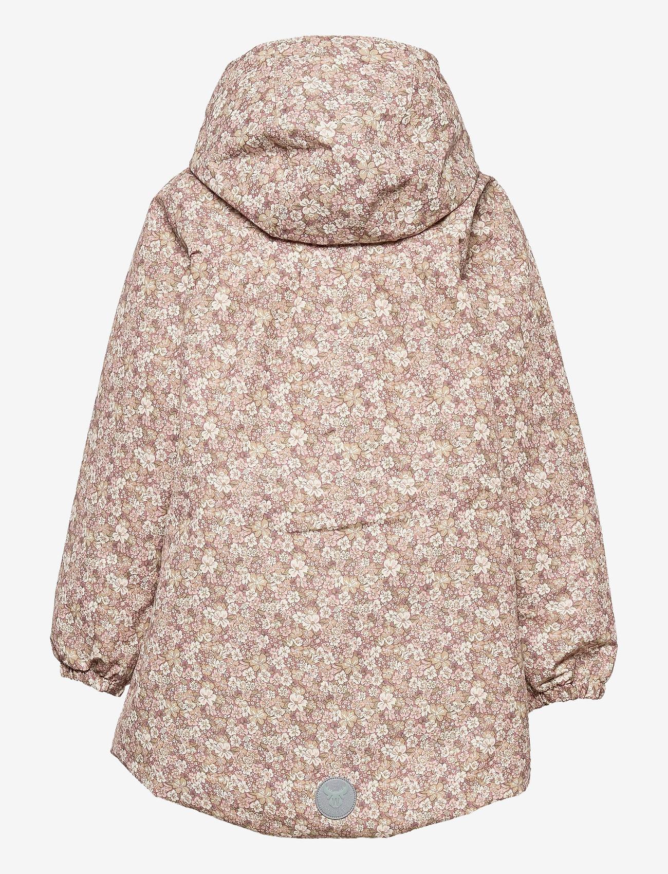 Wheat - Jacket Ada Tech - softshell-jakker - rose flowers - 1
