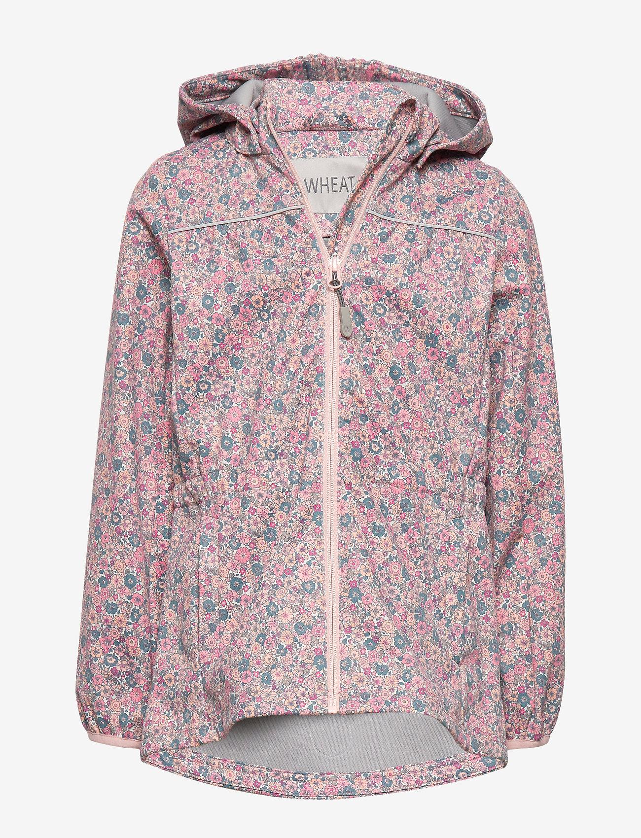 Wheat - Softshell Jacket Gilda - softshell jacket - eggshell flowers